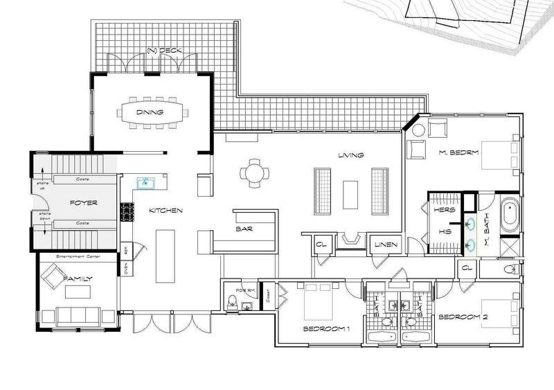 Plans - basement