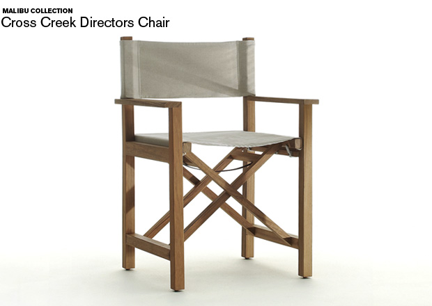 Director chair - james perse