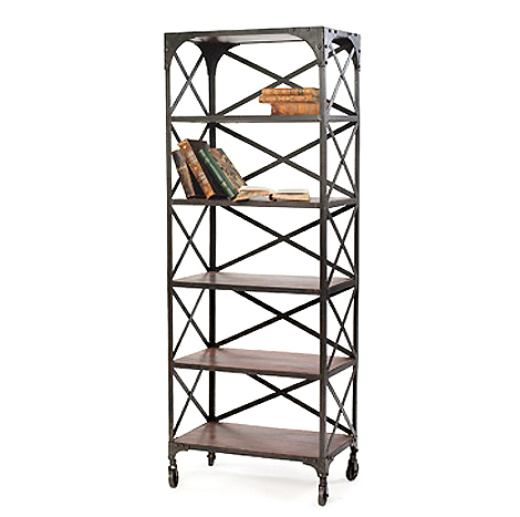 Hudson - Metal Factory Bookshelf
