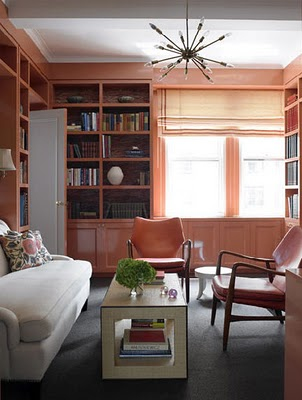 Coral built ins - Habitually chic