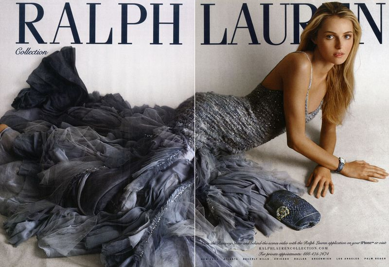 Ralph Lauren Collection Spring 2010 campaign Women Management New York City Blog Valentina Zelyaeva 1