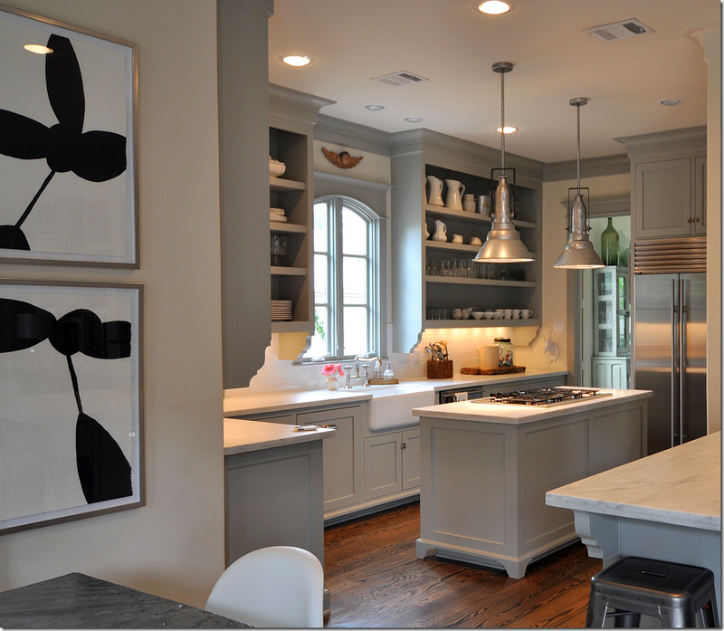 Kitchen inspiration - Sally Wheats via Cote de Texas