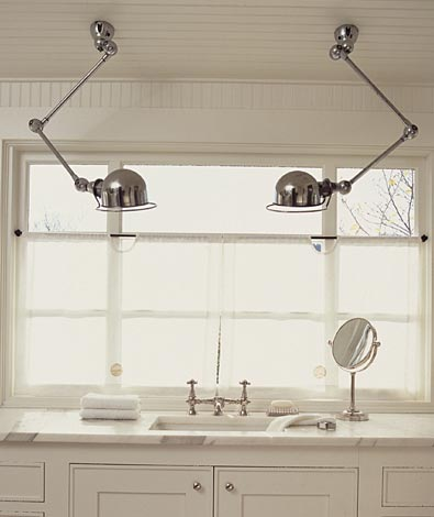 Industrial chic bathroom - Erin Martin