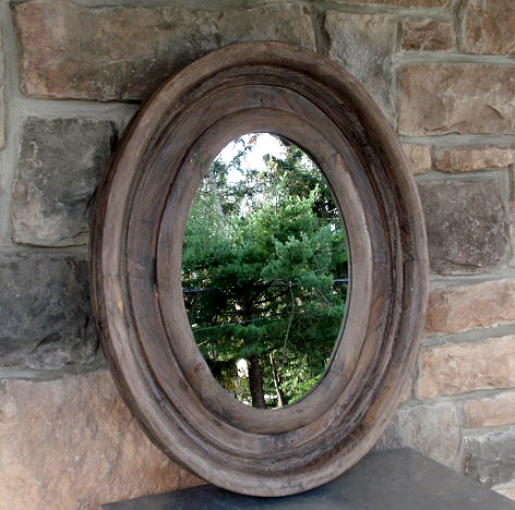 Hudson - mirror oval