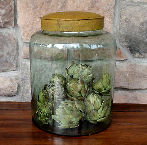 Hudson - Vintage Glass Jar
