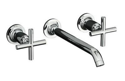 Kohler Purist 2 Handled wall mounted faucet