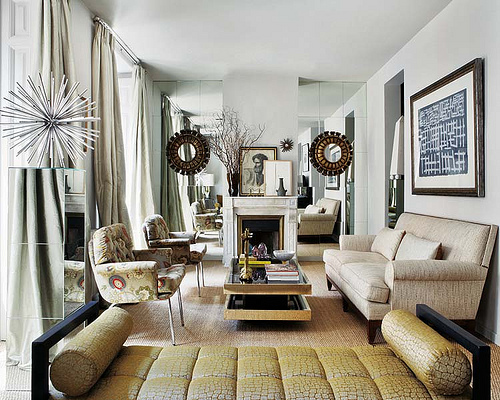well styled living room farmhouseurban