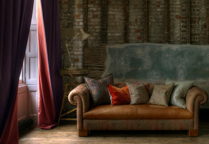 Chesterfield sofa - greige