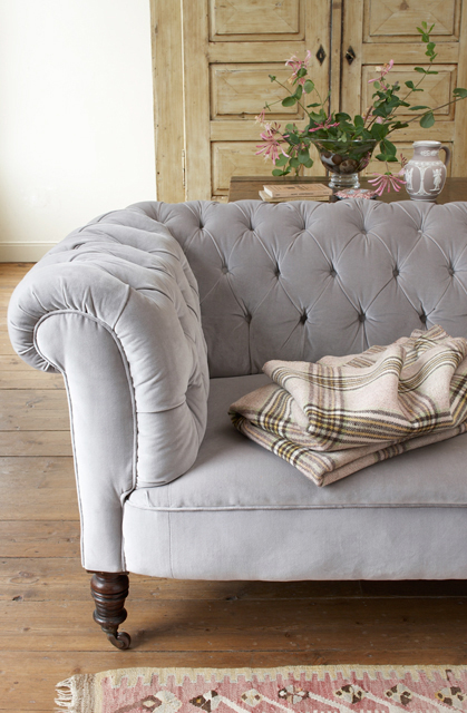 Chesterfield light gray - joanna henderson