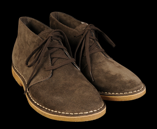 3 eye Chukka in Arabica Oiled Suede