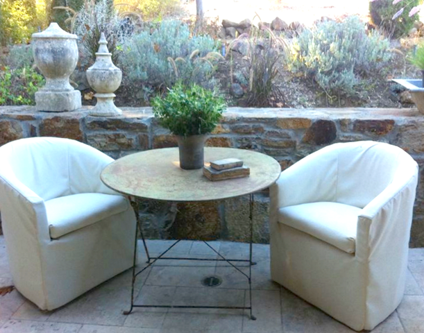 Melanie turner patio via roughluxe