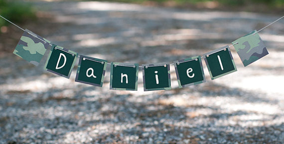 Camo banner