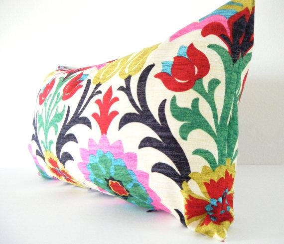 Suzani style pillow- etsy