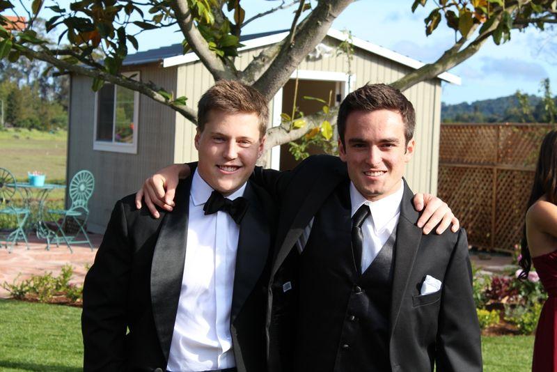 Luke & Ian - prom 2014